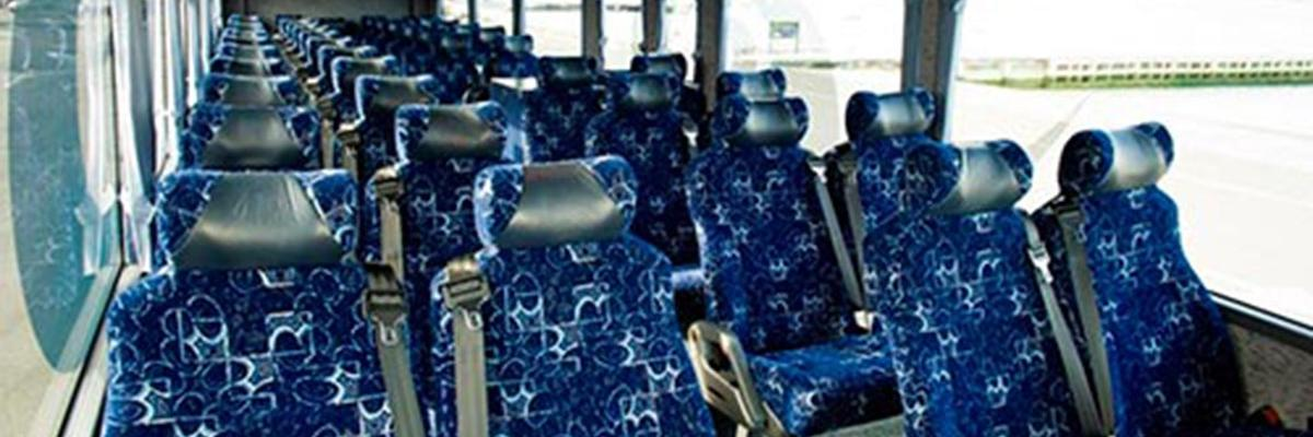 Pacific Tourways - Inside of bus