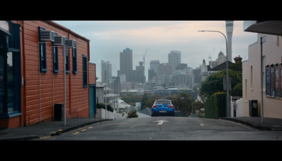 BMW ad shot in Auckland